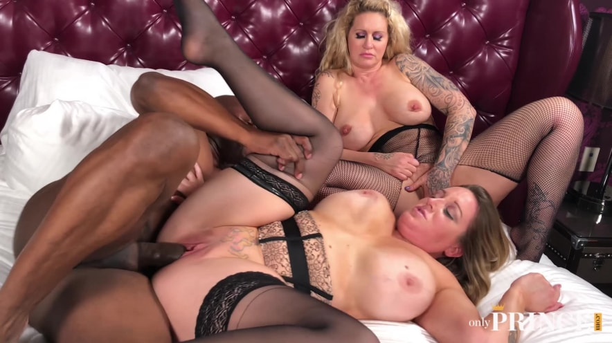 Two Milf Black Cock Sluts Submit To The Power Of The Prince
